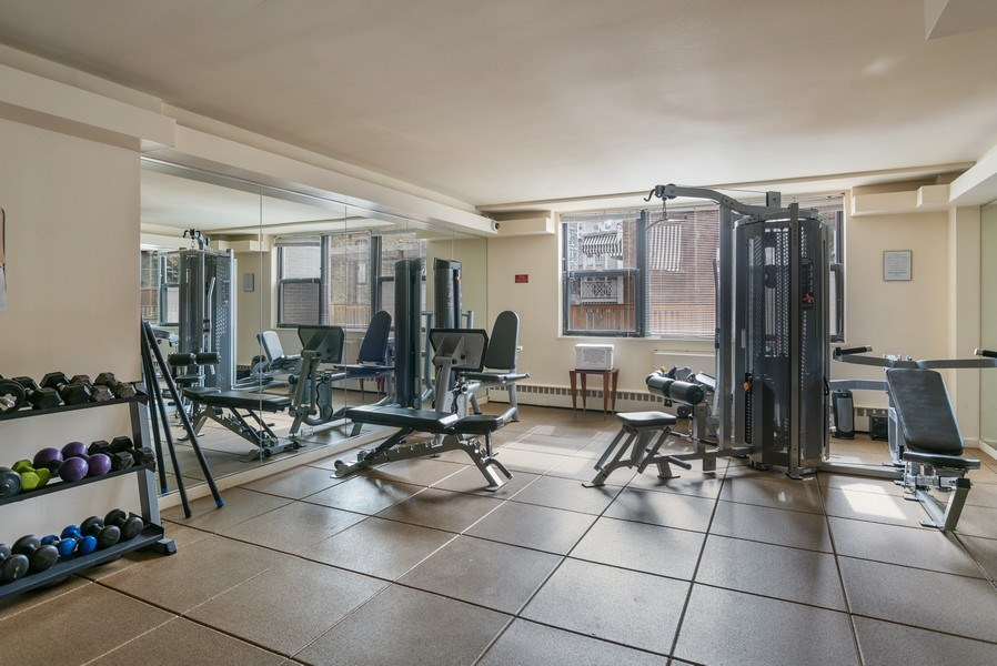 Real Estate Photography - 1445 N. STATE Parkway, Unit 603, Chicago, IL, 60610 - Exercise Room