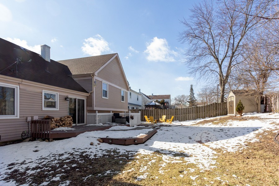 Real Estate Photography - 4 MONTEREY Drive, Vernon Hills, IL, 60061 - Rear View