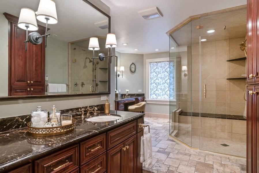 Real Estate Photography - 33 E. BELLEVUE Place, Unit PH-W7, Chicago, IL, 60611 - Master Bathroom