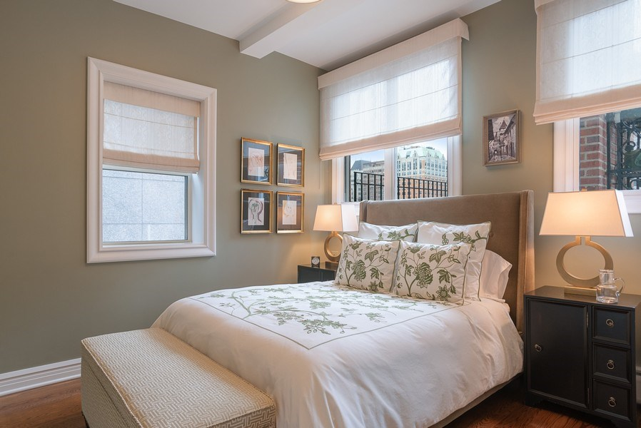 Real Estate Photography - 33 E. BELLEVUE Place, Unit PH-W7, Chicago, IL, 60611 - 3rd Bedroom