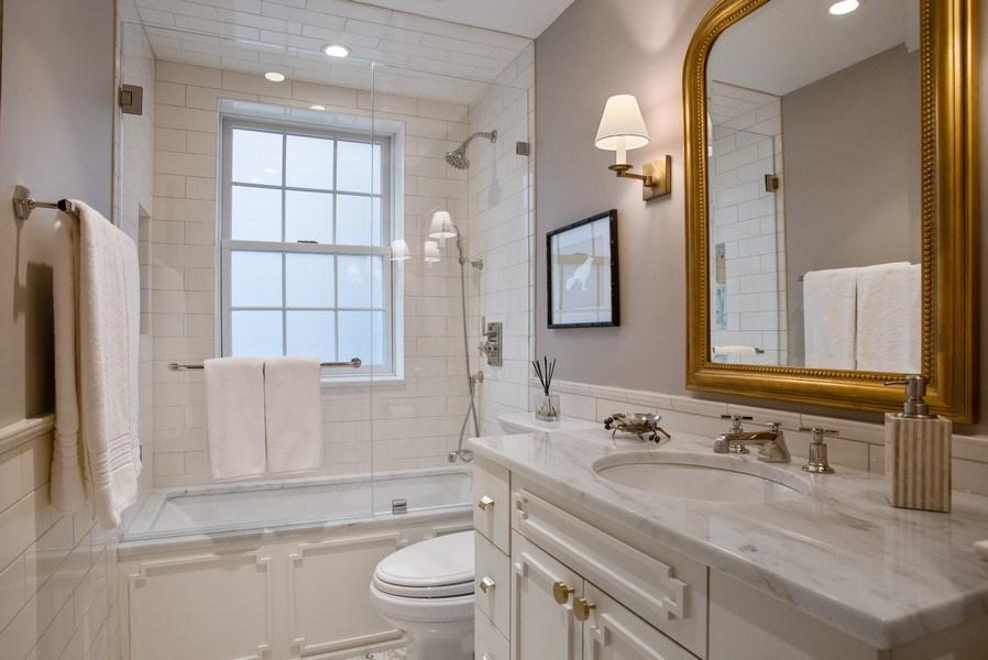 Real Estate Photography - 33 E. BELLEVUE Place, Unit PH-W7, Chicago, IL, 60611 - Bathroom