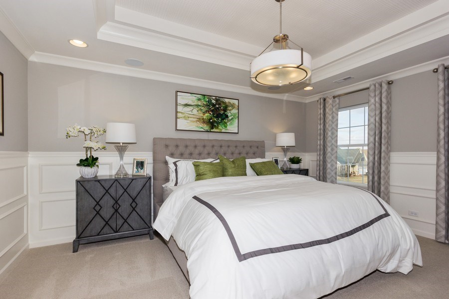Real Estate Photography - 802 Shadowbrook Ct, Oswego, IL, 60543 - Master Bedroom