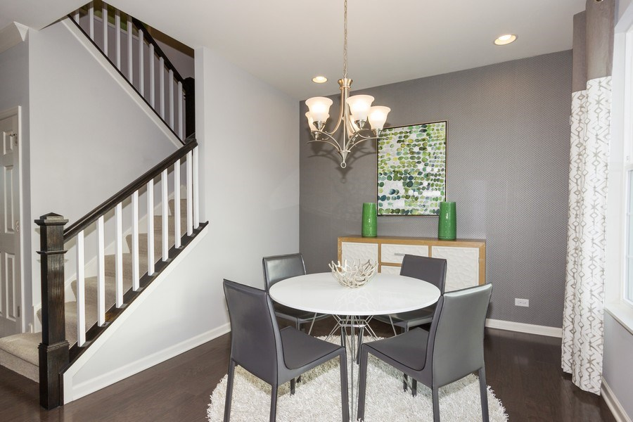Real Estate Photography - 802 Shadowbrook Ct, Oswego, IL, 60543 - Dining Room