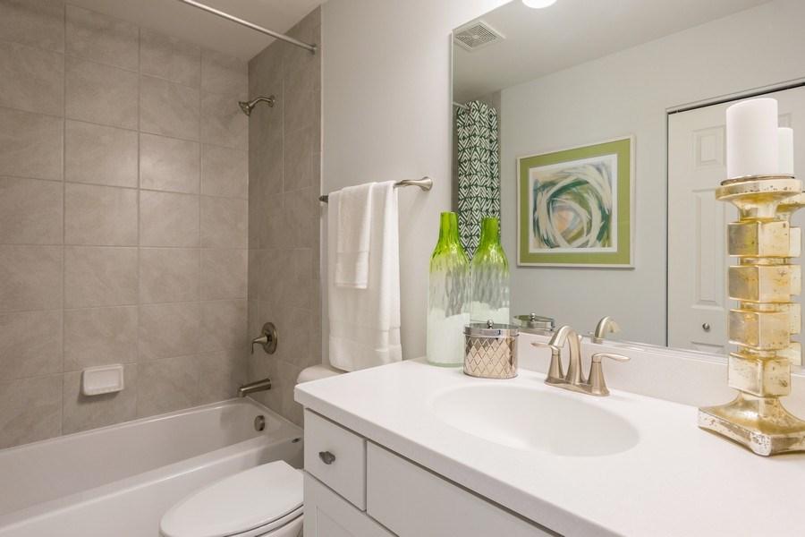 Real Estate Photography - 802 Shadowbrook Ct, Oswego, IL, 60543 - Bathroom