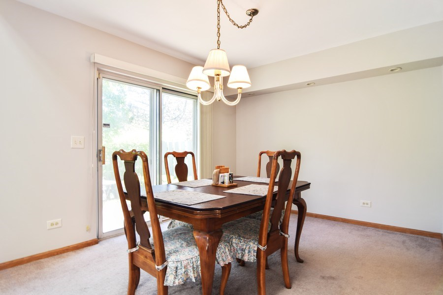 Real Estate Photography - 2007 N. Silver Lake Road, Arlington Heights, IL, 60004 - Dining Room