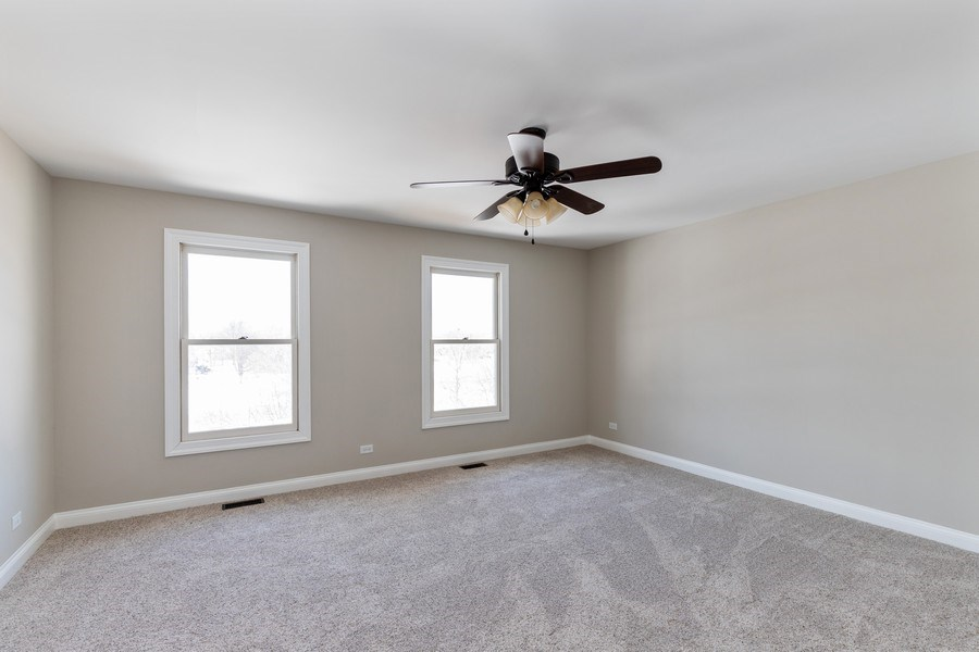 Real Estate Photography - 2091 Trenton Road, Libertyville, IL, 60048 - 2nd Bedroom