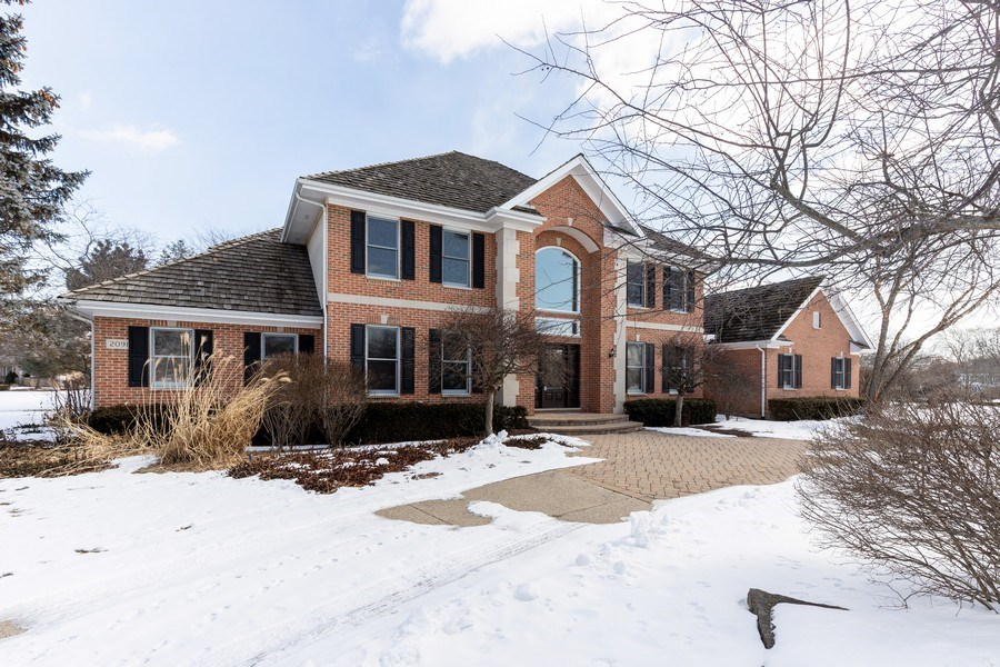 Real Estate Photography - 2091 Trenton Road, Libertyville, IL, 60048 - Front View