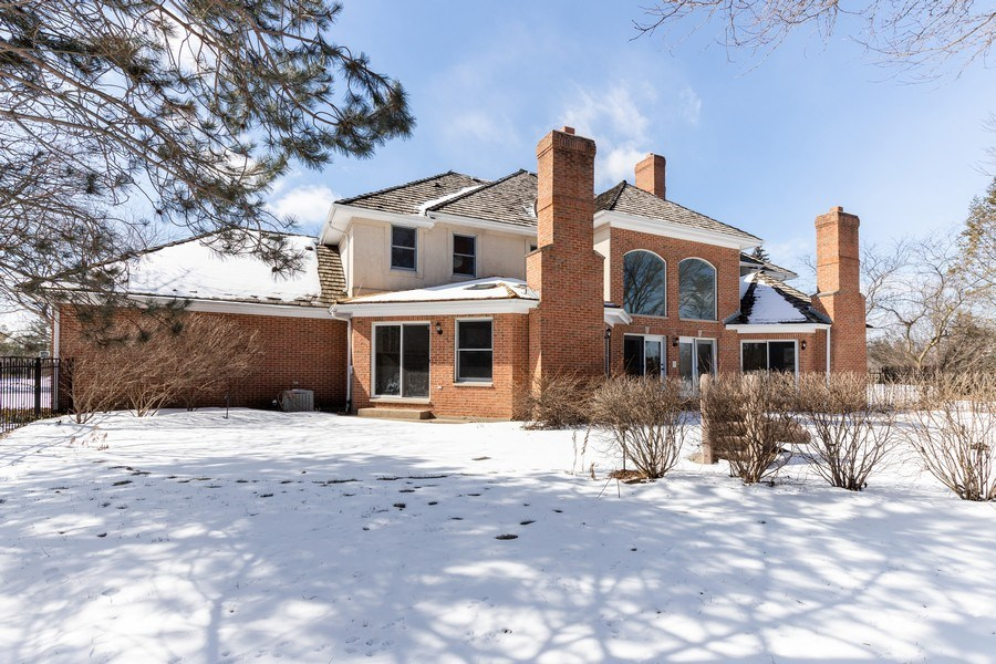 Real Estate Photography - 2091 Trenton Road, Libertyville, IL, 60048 - Rear View