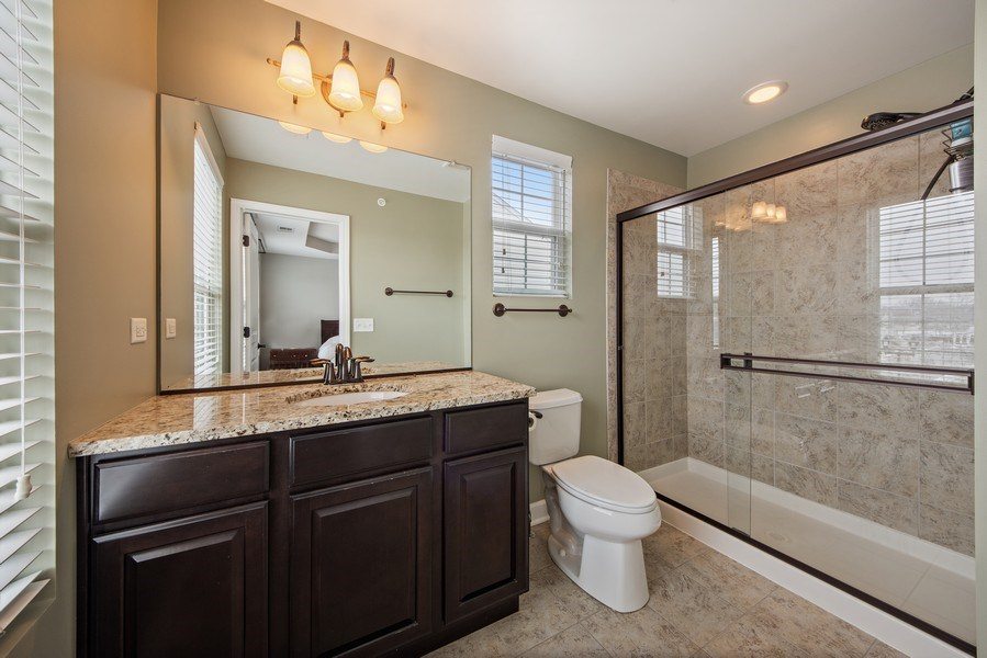 Real Estate Photography - 906 E. Wing Street, Arlington Heights, IL, 60004 - Master Bathroom