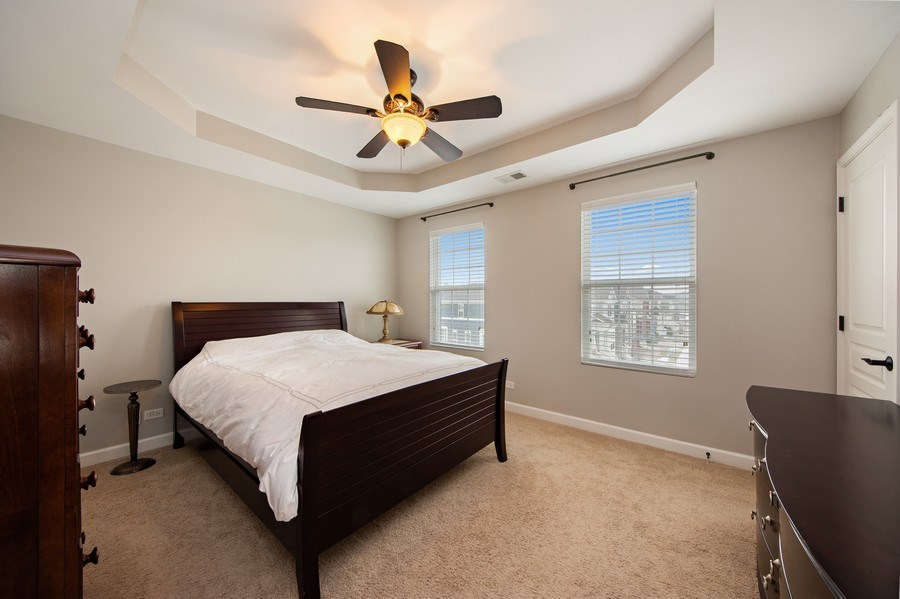 Real Estate Photography - 906 E. Wing Street, Arlington Heights, IL, 60004 - Master Bedroom