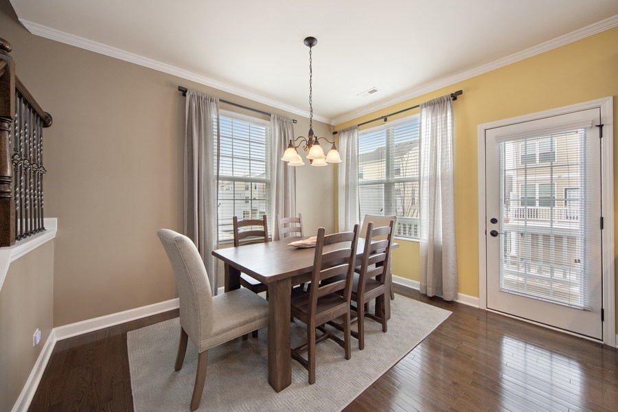 Real Estate Photography - 906 E. Wing Street, Arlington Heights, IL, 60004 - Dining Room