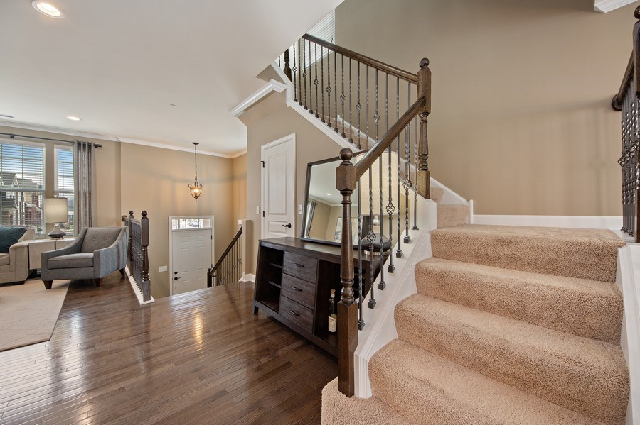 Real Estate Photography - 906 E. Wing Street, Arlington Heights, IL, 60004 - Foyer