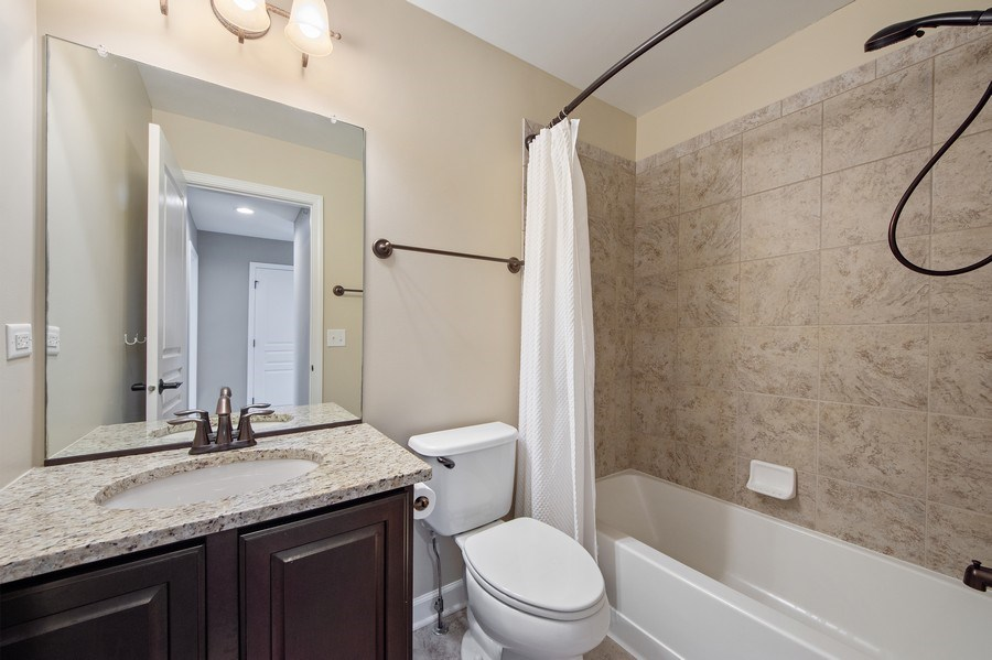 Real Estate Photography - 906 E. Wing Street, Arlington Heights, IL, 60004 - 2nd Bathroom