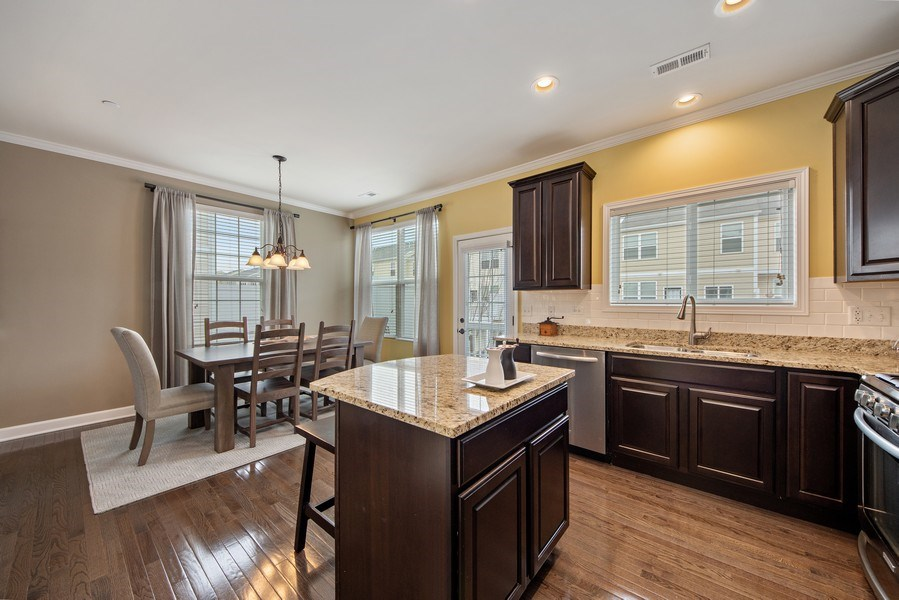 Real Estate Photography - 906 E. Wing Street, Arlington Heights, IL, 60004 - Kitchen / Dining Room