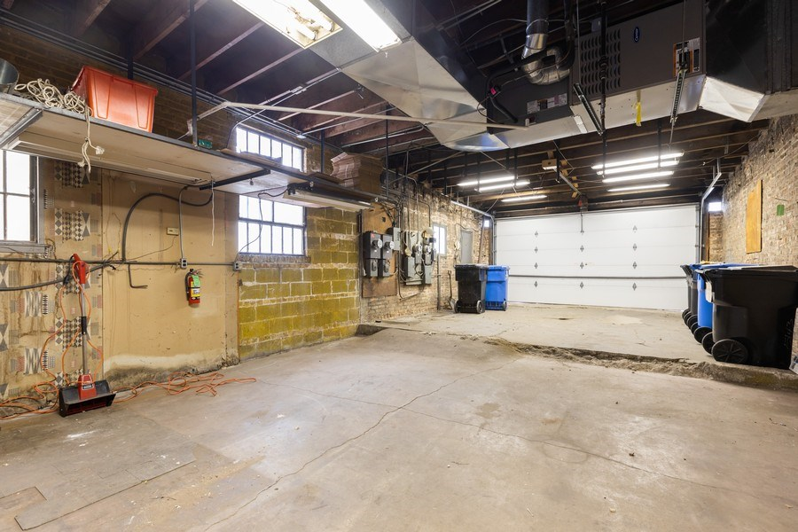 Real Estate Photography - 5143 North West Diversey Ave, Chicago, IL, 60639 - Garage