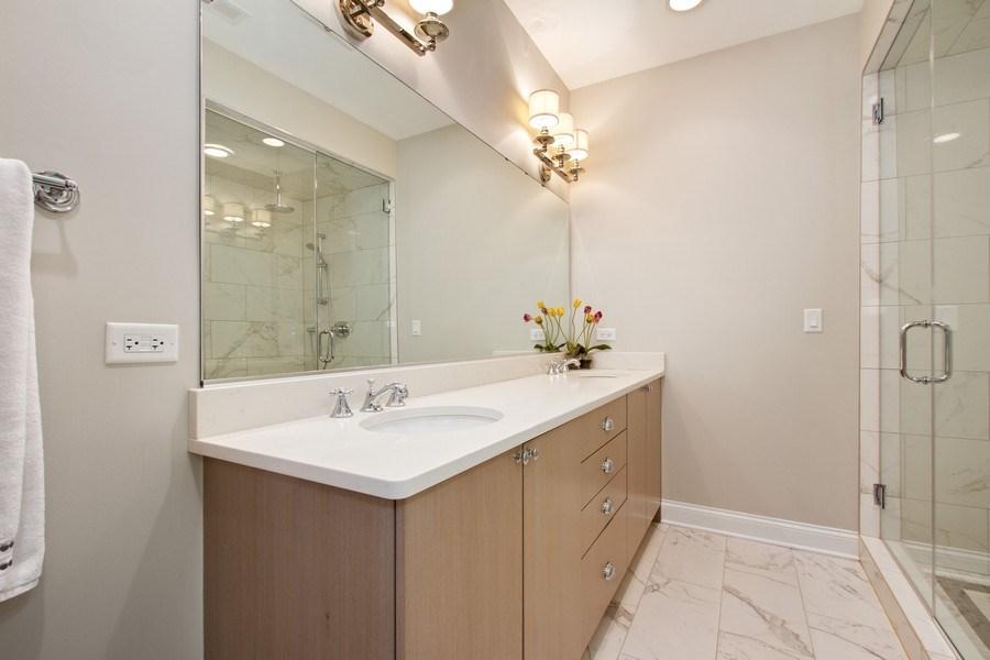 Real Estate Photography - 1834 S. CALUMET Avenue, Unit 3, Chicago, IL, 60616 - Master Bathroom