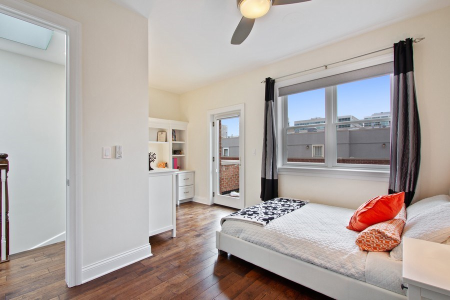 Real Estate Photography - 1834 S. CALUMET Avenue, Unit 3, Chicago, IL, 60616 - 3rd Bedroom