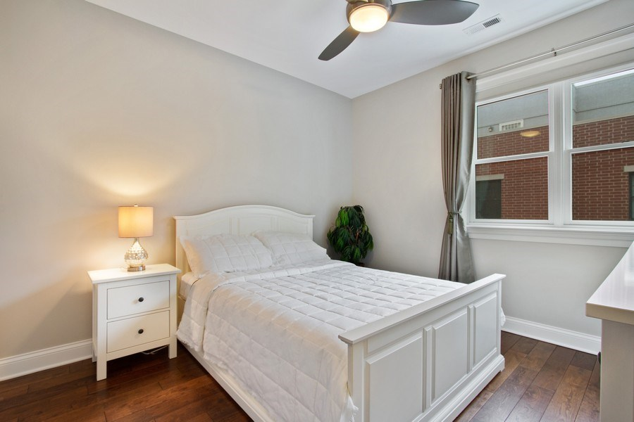 Real Estate Photography - 1834 S. CALUMET Avenue, Unit 3, Chicago, IL, 60616 - Bedroom