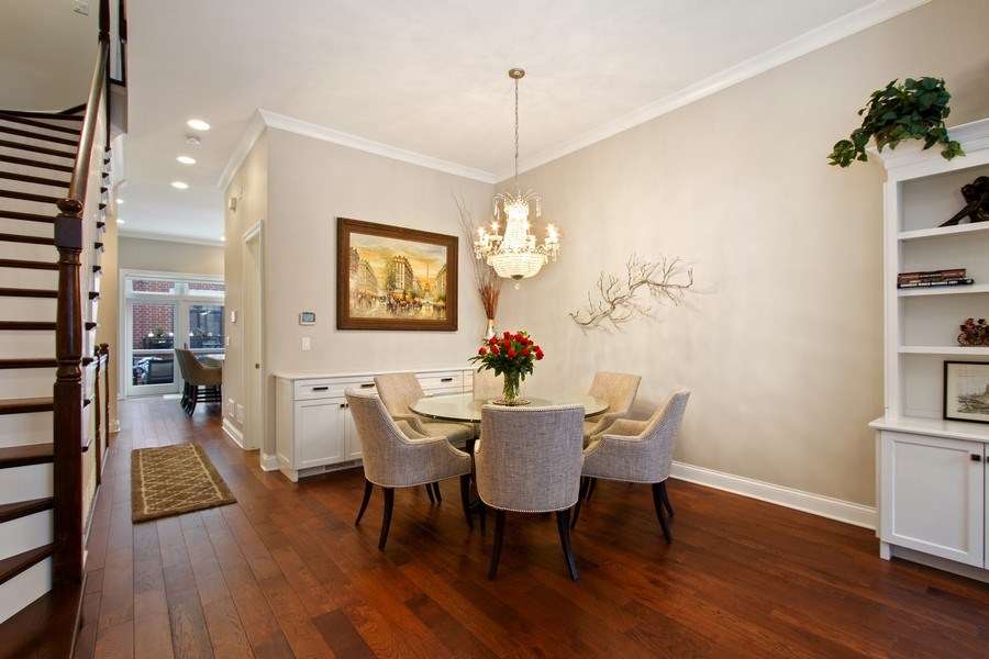 Real Estate Photography - 1834 S. CALUMET Avenue, Unit 3, Chicago, IL, 60616 - Dining Room
