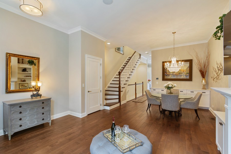 Real Estate Photography - 1834 S. CALUMET Avenue, Unit 3, Chicago, IL, 60616 - Living Room/Dining Room