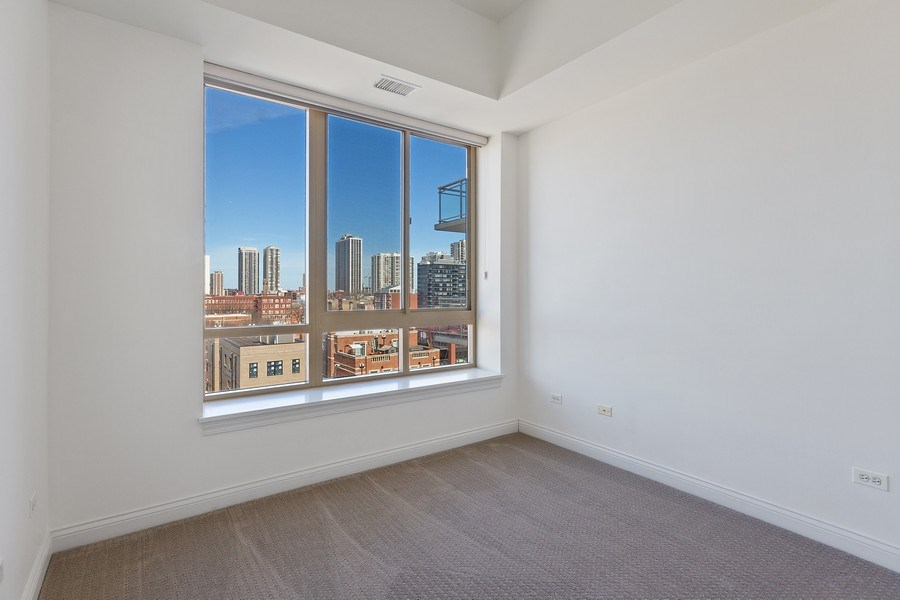 Real Estate Photography - 230 W. Division Street, Unit 801, Chicago, IL, 60610 - Bedroom