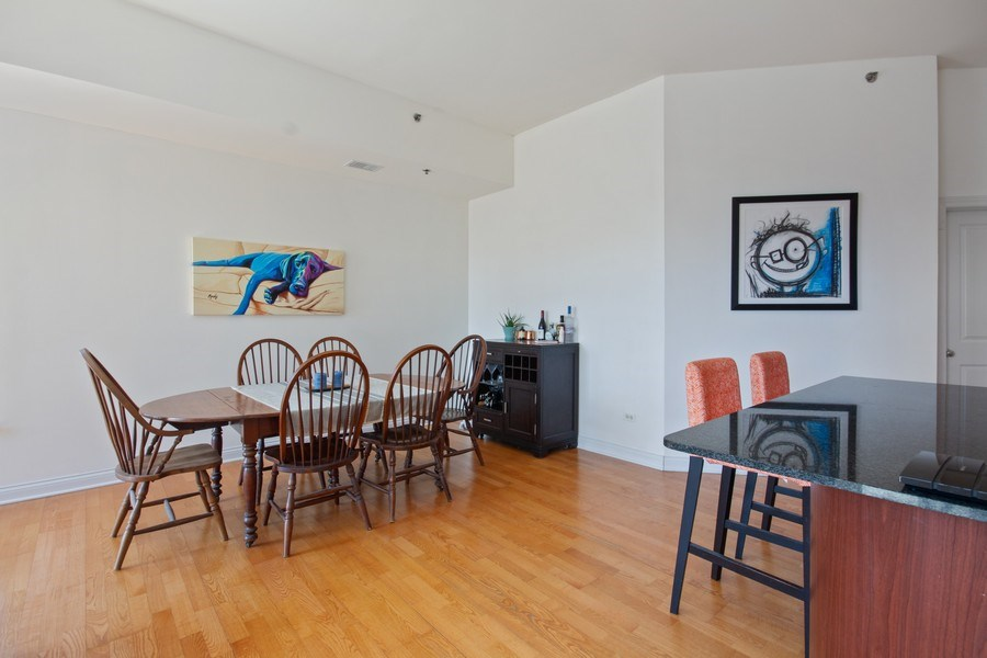 Real Estate Photography - 230 W. Division Street, Unit 801, Chicago, IL, 60610 - Dining Room