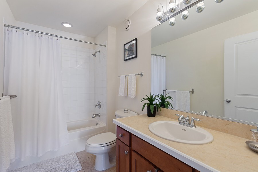 Real Estate Photography - 230 W. Division Street, Unit 801, Chicago, IL, 60610 - Bathroom