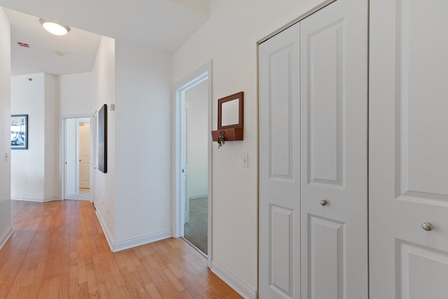 Real Estate Photography - 230 W. Division Street, Unit 801, Chicago, IL, 60610 - Entryway