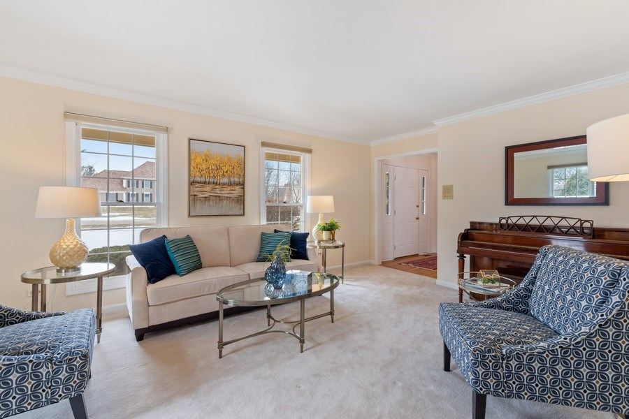 Real Estate Photography - 20581 N. Laurel Drive, Deer Park, IL, 60010 - Living Room