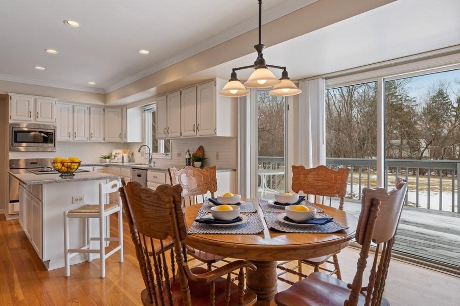 Real Estate Photography - 20581 N. Laurel Drive, Deer Park, IL, 60010 - Kitchen / Breakfast Room