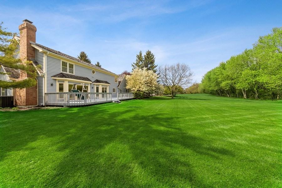 Real Estate Photography - 20581 N. Laurel Drive, Deer Park, IL, 60010 - Back Yard