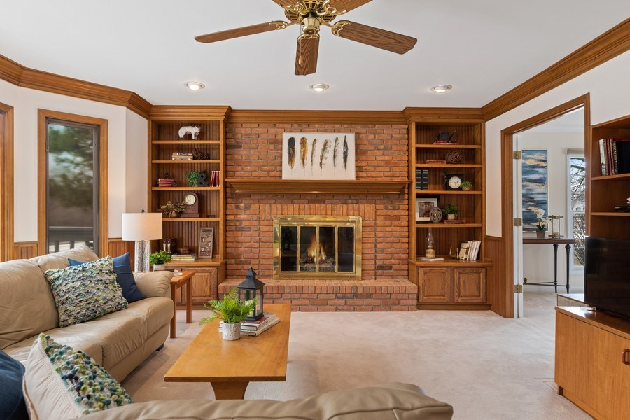 Real Estate Photography - 20581 N. Laurel Drive, Deer Park, IL, 60010 - Family Room