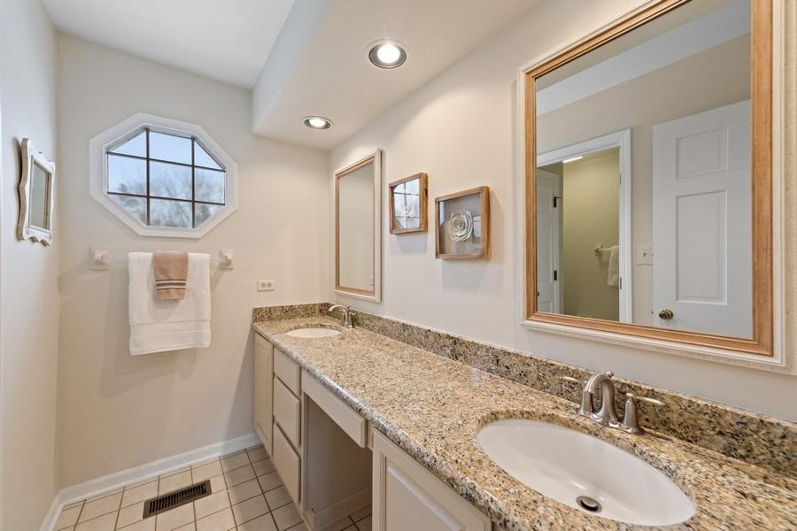 Real Estate Photography - 20581 N. Laurel Drive, Deer Park, IL, 60010 - 2nd Bathroom