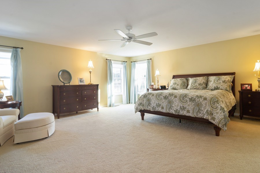 Real Estate Photography - 460 W. Haleys Hill Court, Palatine, IL, 60074 - Master Bedroom