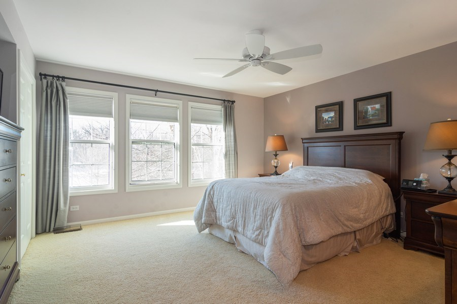 Real Estate Photography - 460 W. Haleys Hill Court, Palatine, IL, 60074 - 2nd Bedroom