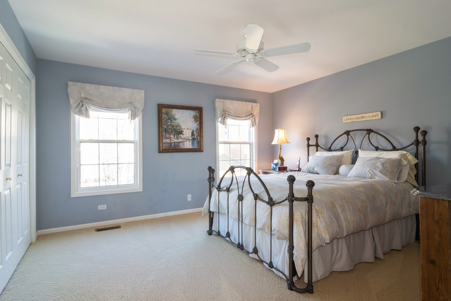 Real Estate Photography - 460 W. Haleys Hill Court, Palatine, IL, 60074 - 3rd Bedroom