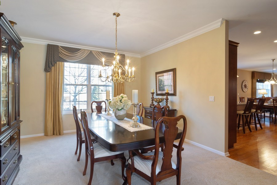 Real Estate Photography - 460 W. Haleys Hill Court, Palatine, IL, 60074 - Dining Room