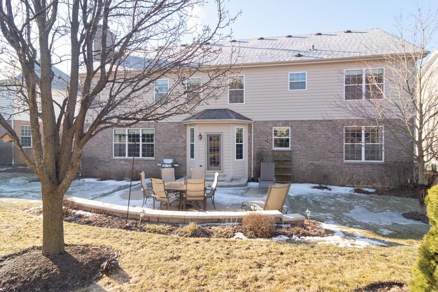 Real Estate Photography - 460 W. Haleys Hill Court, Palatine, IL, 60074 - Back Yard