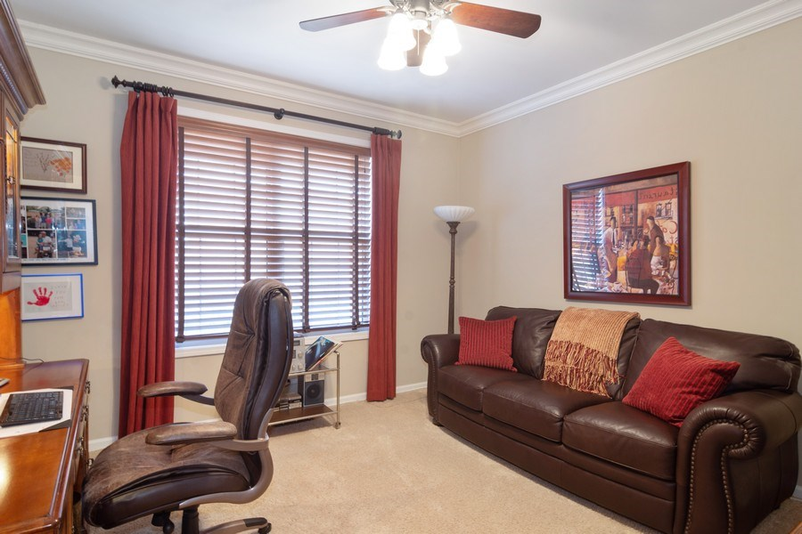 Real Estate Photography - 460 W. Haleys Hill Court, Palatine, IL, 60074 - Office