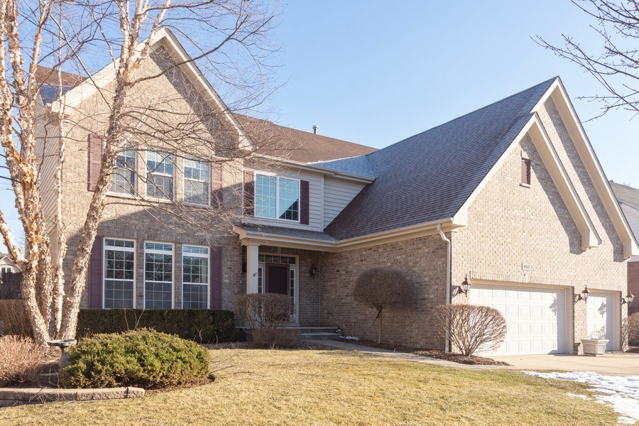Real Estate Photography - 460 W. Haleys Hill Court, Palatine, IL, 60074 - Front View