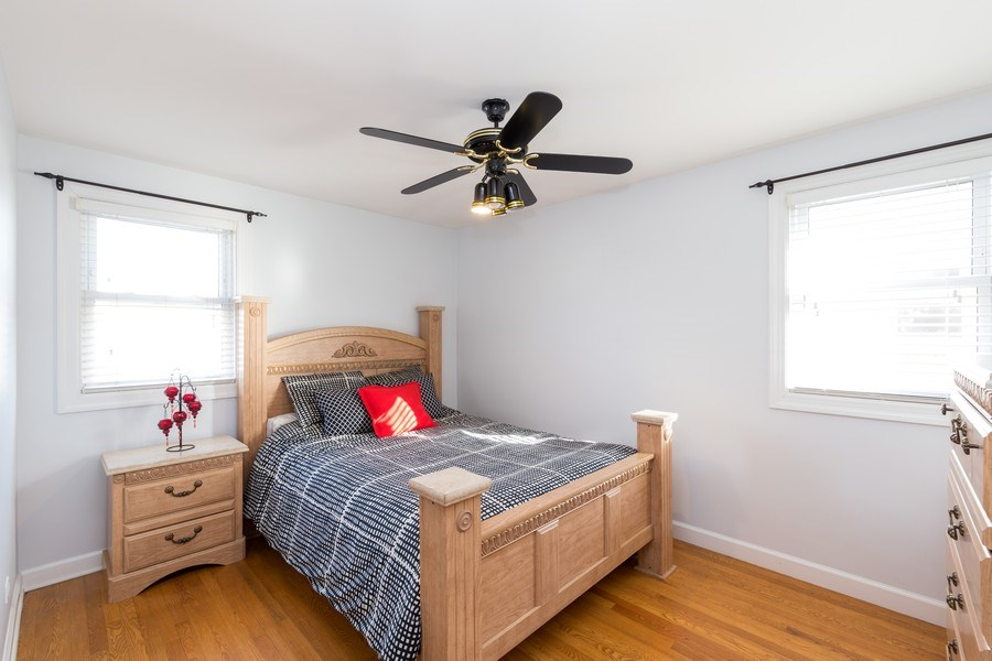 Real Estate Photography - 3529 Scott Street, Franklin Park, IL, 60131 - Master Bedroom
