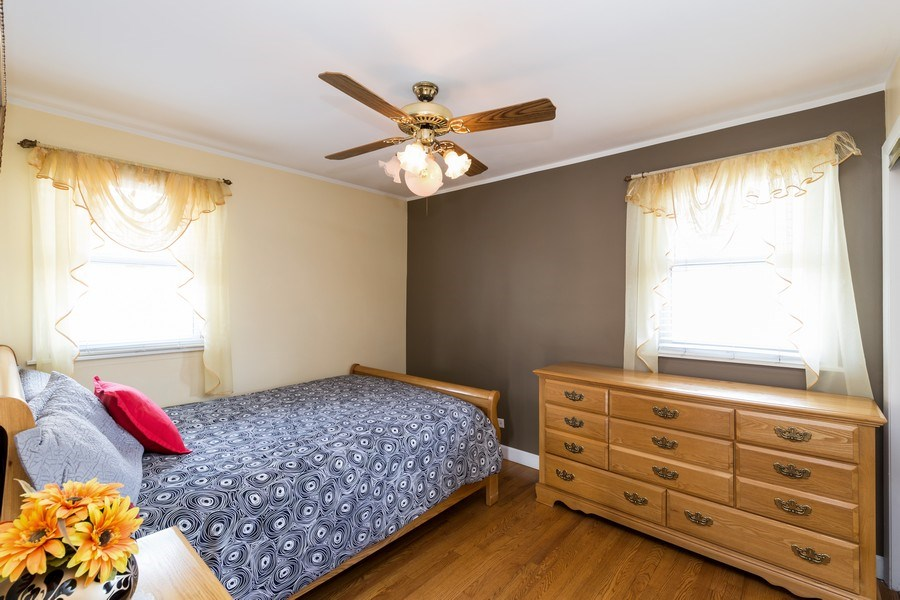 Real Estate Photography - 3529 Scott Street, Franklin Park, IL, 60131 - Bedroom