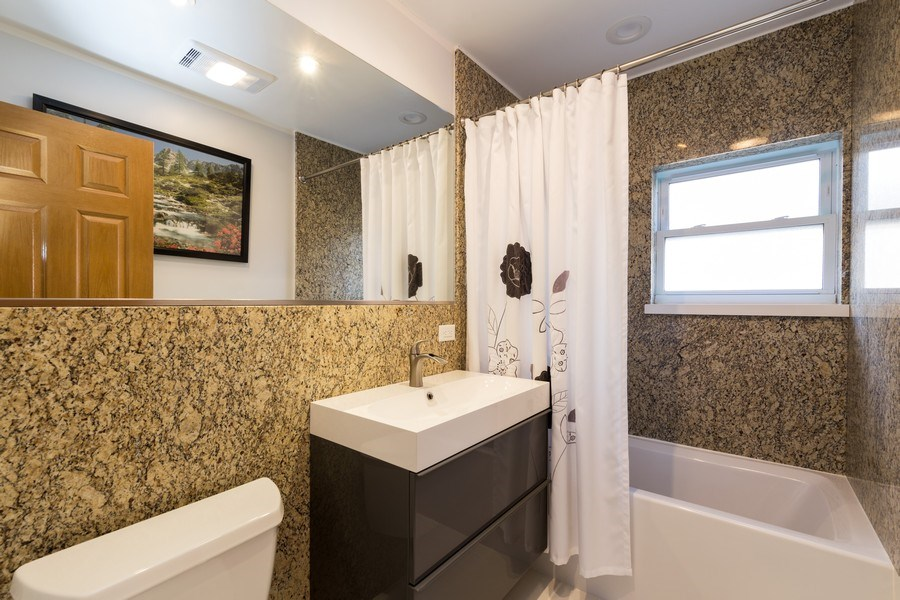 Real Estate Photography - 3529 Scott Street, Franklin Park, IL, 60131 - Bathroom