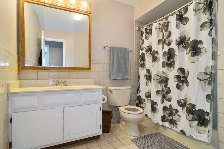 Real Estate Photography - 231 Gingerbrook Lane, Bartlett, IL, 60103 - Bathroom