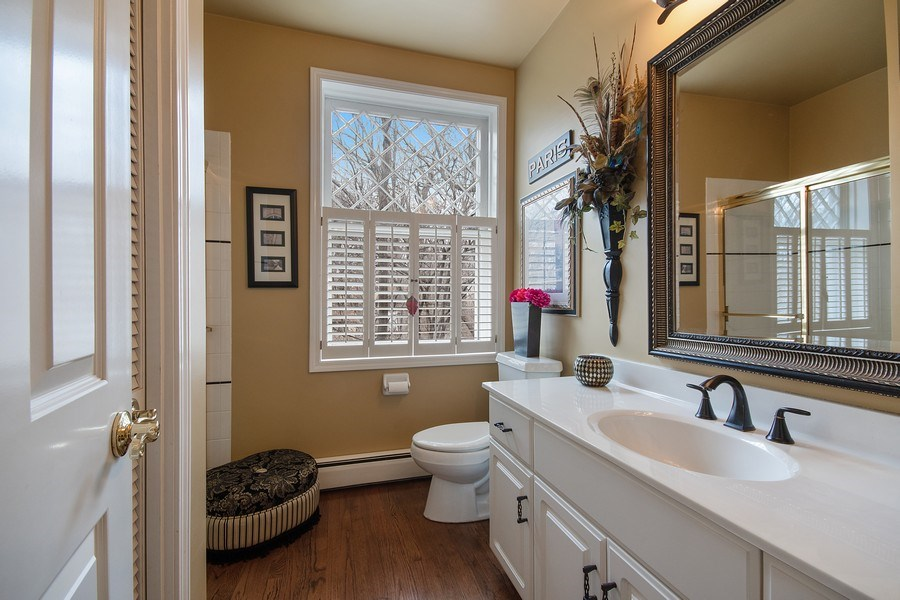 Real Estate Photography - 1528 N Loomis St, Naperville, IL, 60563 - 3rd Bathroom