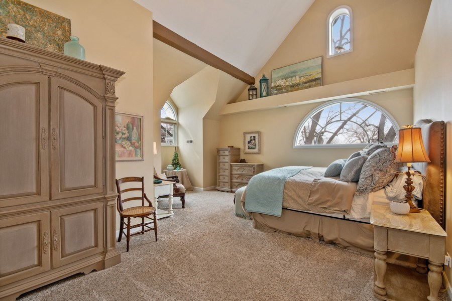 Real Estate Photography - 1528 N Loomis St, Naperville, IL, 60563 - Master Bedroom