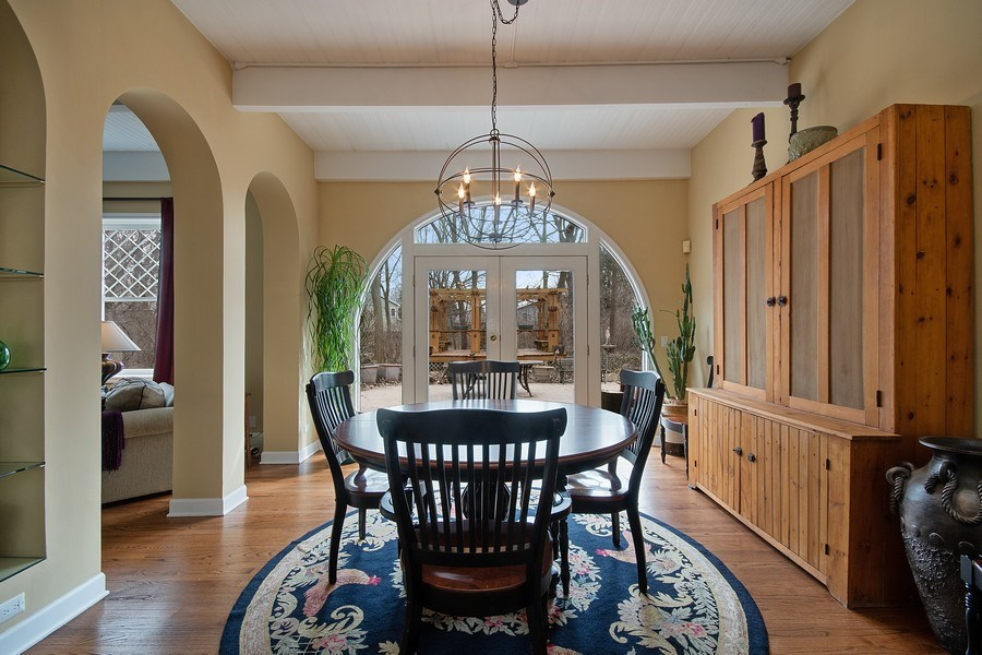 Real Estate Photography - 1528 N Loomis St, Naperville, IL, 60563 - Dining Room