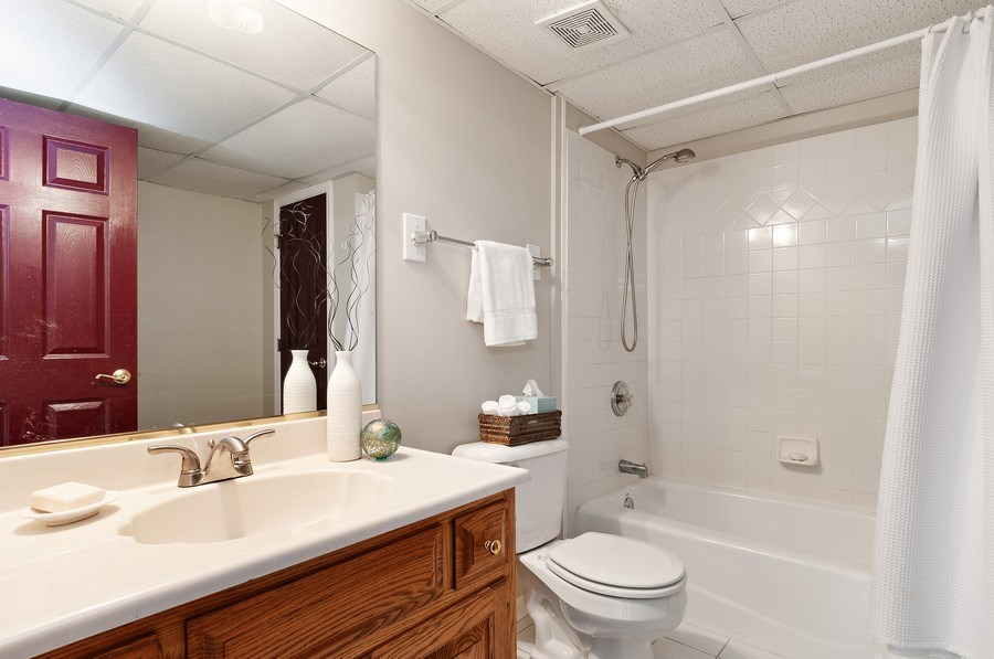 Real Estate Photography - 2215 Comstock Lane, Naperville, IL, 60564 - 4th Bathroom