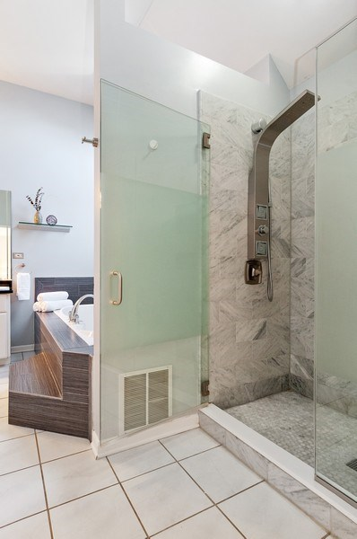 Real Estate Photography - 2215 Comstock Lane, Naperville, IL, 60564 - Master Bathroom