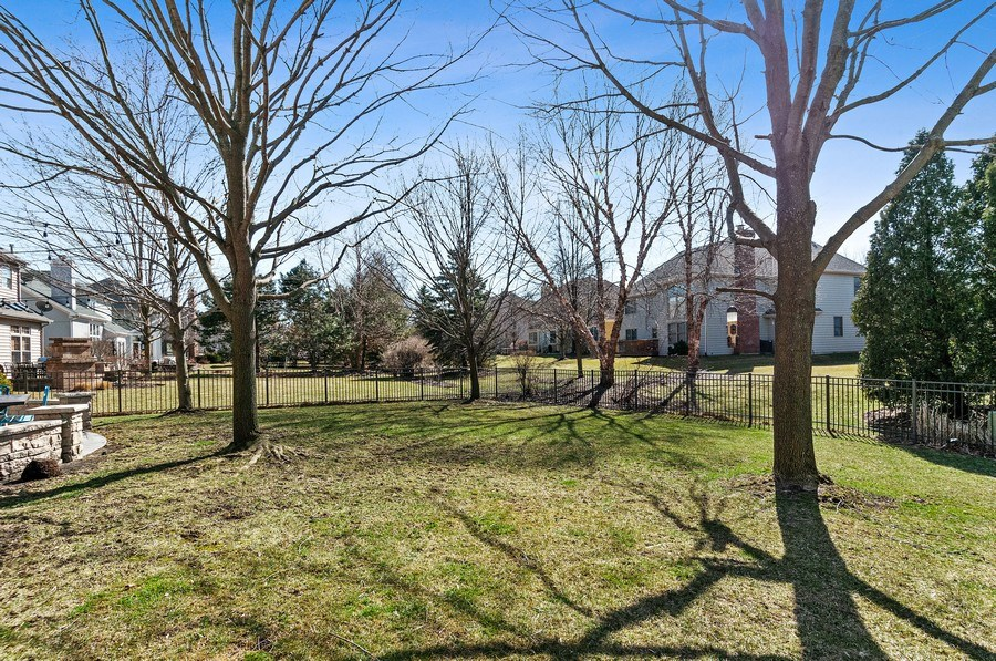 Real Estate Photography - 2215 Comstock Lane, Naperville, IL, 60564 - Back Yard